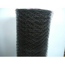 Кокоша мрежа черна 0.8 ,Н-1.25м