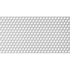 Перфорирана ламарина неръждаема 1мм RV 2-3.5
