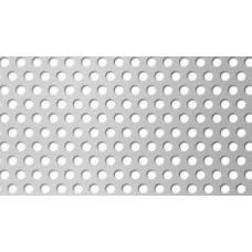 Перфорирана ламарина поцинкована 1.0мм RV 3-5
