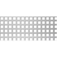 Перфорирана ламарина черна 1.0мм CU 5-7.5мм