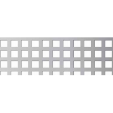 Перфорирана ламарина черна 1.5мм CU 8-12мм