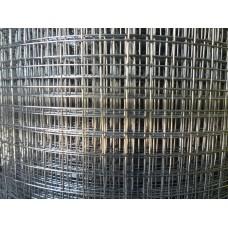 Електрозаварена мрежа поцинк. Н-1.0м,тел 0.8мм,отвори 12.7/12.7