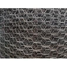 Рабицова мрежа 0.6 мм черна