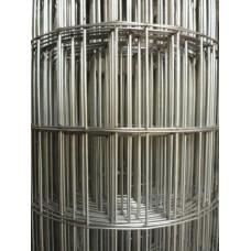 Електрозаварена мрежа поцинк.Н-2.00м,тел 3мм,отвори60/100