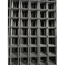 Електрозаварена мрежа черна 3 мм, отвори 50/50мм