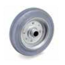 Колело от сива гума неоставяща следа 100 мм