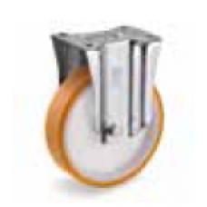 Колело от лят полиуретан стационарно 100 мм