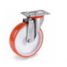 Колело от полиуретан въртящо 100 мм