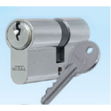 Ключалка секретна 30/30мм никел БДС
