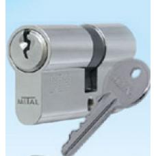 Ключалка секретна 30/40мм никел ДИН