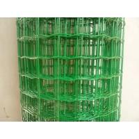 Оградна мрежа с ПВЦ,Н1.8м,отвори 60/60 светло зелена,30м