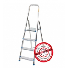 Алуминиева домакинска стълба 2+1