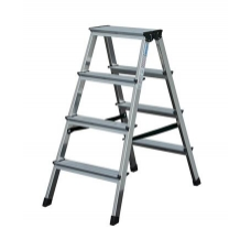 Двустранна алуминиева стълба 2х2