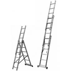 Професионалнa алуминиевa стълбa трираменна 3х10