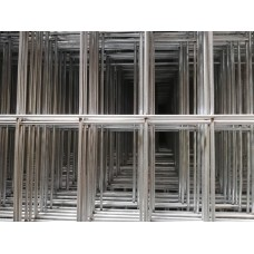 Електрозаварена поцинкована мрежа 3 мм, отвори 50/100мм