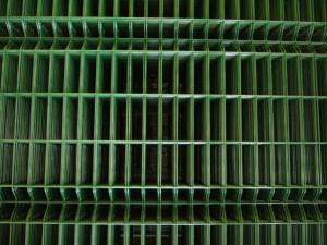 оградни пана полиестерно покритие no RAL 6005 (2)