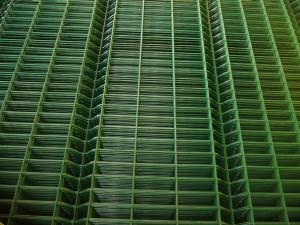оградни пана полиестерно покритие no RAL 6005 (3)