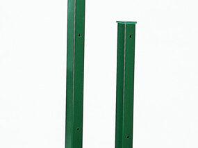 оградни стълбове с полиестерно покритие no RAL 6005 (2)