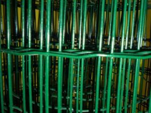 заварена с пвц покритие мрежа