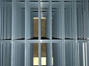 оградни пана полиестерно покритие no RAL 7016